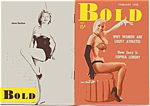 Vintage 'Bold' magazine February 1956 (Image1)