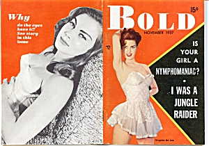 Vintage 'Bold' mini-magazine November 1957 (Image1)