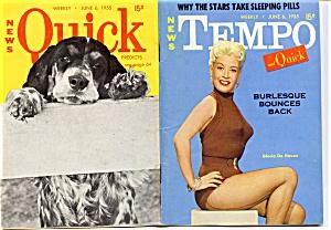 Vintage Tempo and Quick mini-magazine June 1955 (Image1)