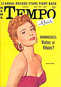 Vintage 'Tempo and Quick' mini-magazine September 1955 (Image1)