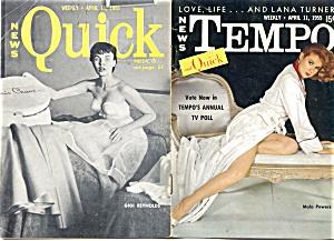 Vintage Tempo and Quick mini-magazine 1955 Lana Turner (Image1)