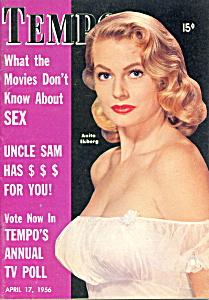 Vintage 'Tempo' mini-magazine Sophia Loren 1956 (Image1)