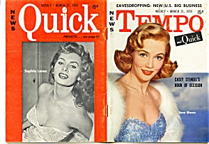 Vintage Tempo mini-magazine 1955 Marilyn Monroe (Image1)