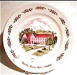 Avon Tenth Anniversary Plate (Image1)