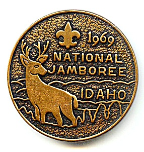 Boy Scouts of America  Jamboree medallion 1969 (Image1)