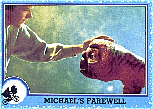 E.T. The Extra-Terrestrial vintage trading cards 1982 (Image1)