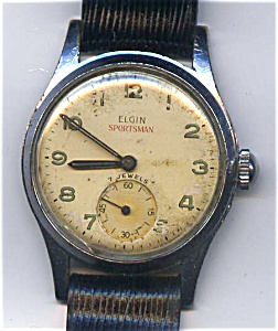 Elgin Sportsman vintage mechanical wind man's watch (Image1)