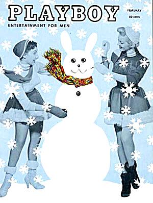 Vintage Playboy magazine February 1955 (Image1)