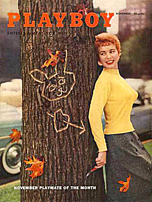 Vintage Playboy magazine November 1955 (Image1)