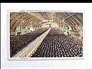 Vintage postcard - Communion Exercises 1944 (Image1)