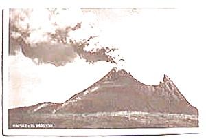 Mount Vesuvius Italian vintage postcard (Image1)