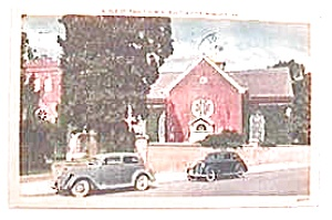 Vintage postcard - Old St. Paul's Church 1954 (Image1)