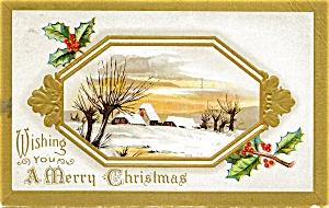 Vintage Christmas Postcard 1911 (Image1)