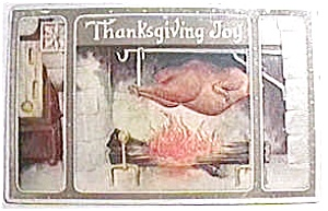 Antique vintage Thanksgiving postcard 1913-15 (Image1)
