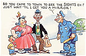 Postcard Humor Police #189 (Image1)