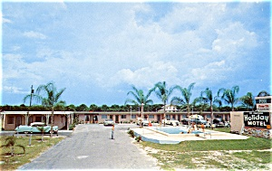 Post Card Holiday Motel Florida (Image1)