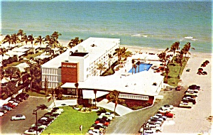 Post Card Pan American Motel Miami Beach Fla. (Image1)