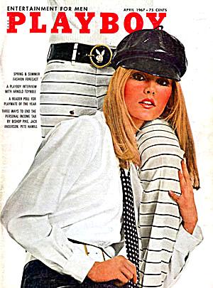 Playboy magazine April 1967 (Image1)