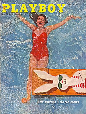 Playboy vintage magazine June 1956 (Image1)