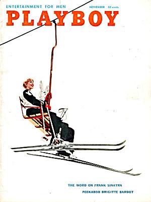 Playboy vintage magazine November 1958 (Image1)