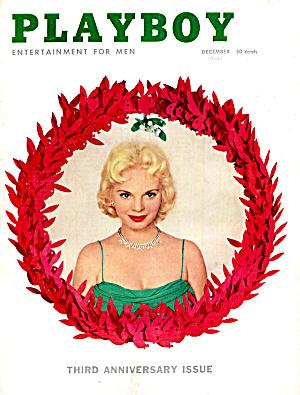 Playboy vintage magazine December 1956 (Image1)