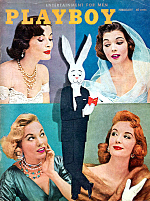 Playboy February 1956 Vintage magazine (Image1)