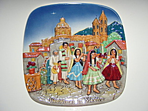 Christmas in Mexico Royal Doulton plate 1973 (Image1)