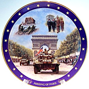 World War II 'Freeing of Paris' collector plate (Image1)