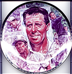 Gary Player Platinum Edition collector plate (Image1)