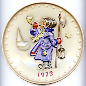 Hear Ye, Hear Ye Hummel plate 1972 (Image1)
