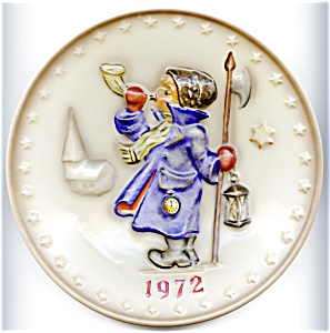 Hear Ye, Hear Ye Hummel annual plate 1972 (Image1)