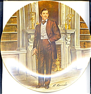 'Rhett'  'Gone With the Wind' collector plate 1981 (Image1)