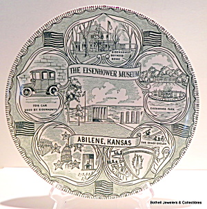 Eisenhower Museum vintage collector plate (Image1)