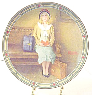 Norman Rockwell Plate 'a Young Girl's Dream'