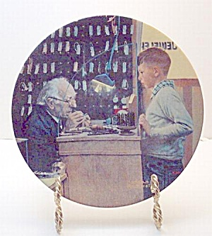 Norman Rockwell plate 'The Jeweler' 1992 (Image1)