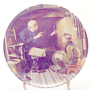 Norman Rockwell plate 'The Veteran' 1988 (Image1)
