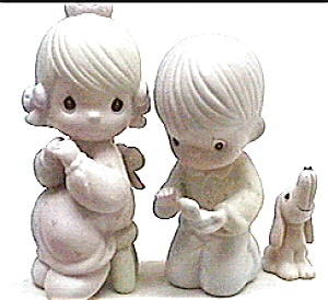Precious Moments 'With This Ring' boy girl figurine (Image1)