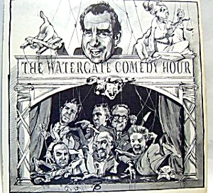 The Watergate Comedy Hour lp vinyl record 1973 (Image1)