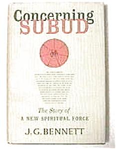 'Concerning Subud' by John G. Bennett 1959 (Image1)
