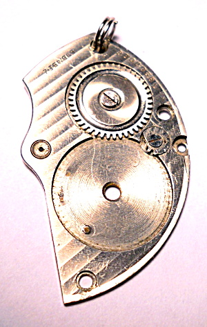 Steampunk pocket watch part pendant (Image1)