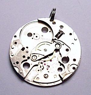 Steam punk antique watch parts pendant (Image1)
