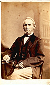 Older Man vintage Carte de Visite photo (Image1)