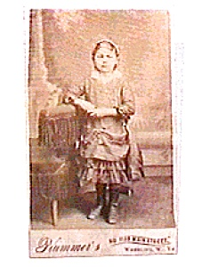 Young Girl Standing Photograph (Image1)