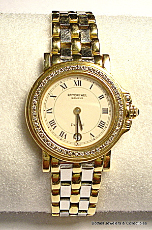 'Raymond Weil'  'Parsifal' Swiss 18K gold lady's watch (Image1)
