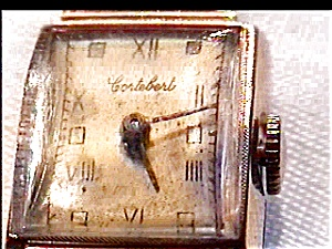 14K gold 'Cortebert' lady's vintage watch (Image1)