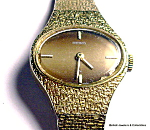Vintage Seiko lady's mechnical wrist watch (Image1)