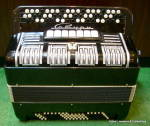 Click here to enlarge image and see more about item accrsbtn1: 'Saturn' 3 row button accordion from Russia