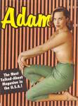 Click here to enlarge image and see more about item Adamvintagemensmagazines: Adam vintage magazine 1950s - 1960s
