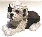 Click here to enlarge image and see more about item af7: Enesco vintage purebred dog figurine 1984