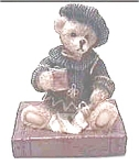 Cornerstone Creations bear figurine